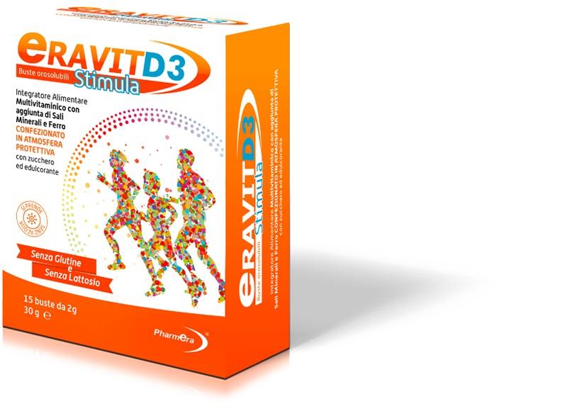 ERAVIT D3 STIMULA 15 BUSTINE STICK PACK 2 G - La farmacia digitale