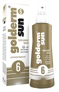 GOLDERM SUN SPF 6 SPRAY 200 ML - Farmaseller