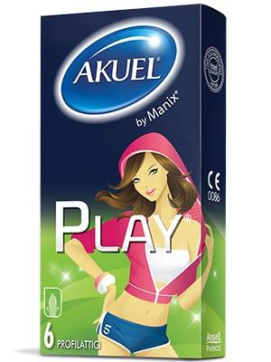 Akuel Play Profilattico Sicuro E Confortevole 12 Pezzi