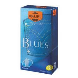 PROFILATTICO ANSELL AKUEL MANIX BLUES B 12 PEZZI - Farmajoy