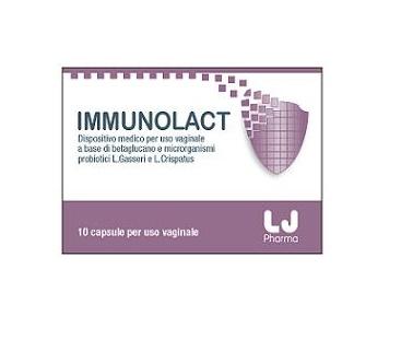 IMMUNOLACT 10 CAPSULE VAGINALI - Farmacianuova.eu