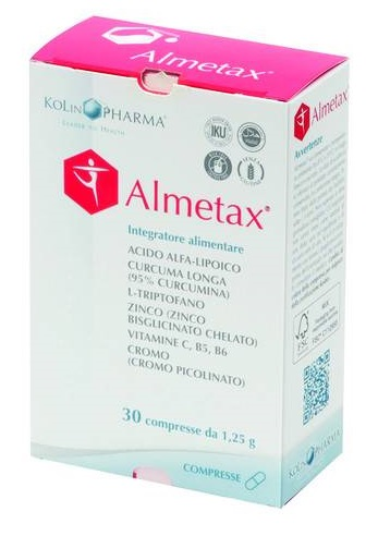 KiLinPharma Almetax Integratore Alimentare 30 Compresse - Sempredisponibile.it