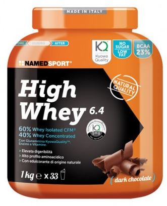HIGH WHEY DARK CHOCOLATE 1 KG - Farmapage.it