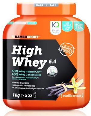 HIGH WHEY VANILLA CREAM 1 KG - Farmapage.it