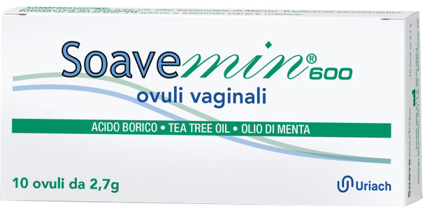 SOAVEMIN 600 10 OVULI VAGINALI - La farmacia digitale