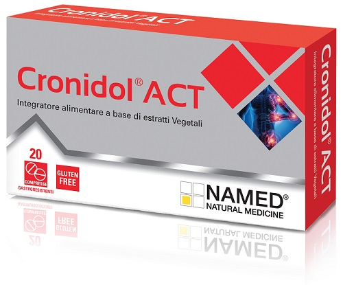 CRONIDOL ACT 20 COMPRESSE GASTRORESISTENTI - Farmabellezza.it