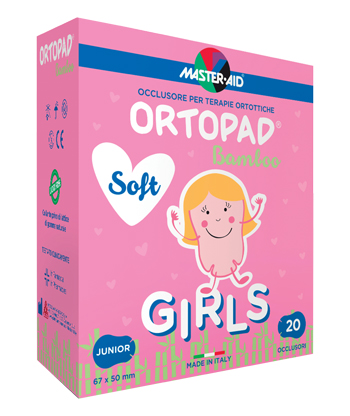 CEROTTO OCULARE PER ORTOTTICA ORTOPAD SOFT GIRLS JUNIOR 20 PEZZI - Farmacia 33