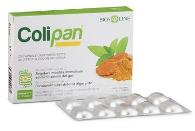 Bios Line Colipan Integratore Alimentare 20 Capsule Gastroprotette - Turbofarma.it