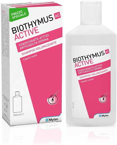 BIOTHYMUS AC ACTIVE SHAMPOO VOLUMIZZANTE DONNA 200 ML PREZZO SPECIALE - Farmaciasconti.it