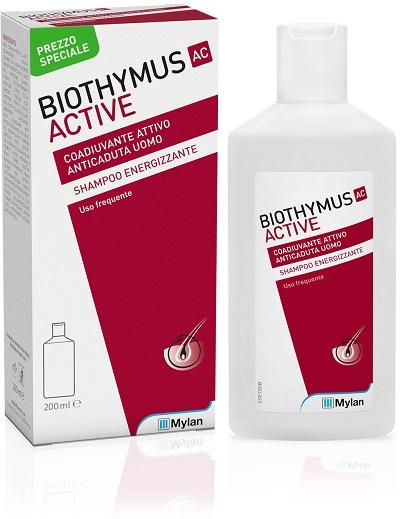 BIOTHYMUS AC ACTIVE SHAMPOO ENERGIZZANTE UOMO 200 ML PREZZO SPECIALE - Farmacia Massaro