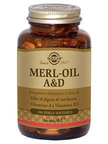MERL OIL A&D FLACONE 100 PERLE SOFTGEL - Farmafamily.it
