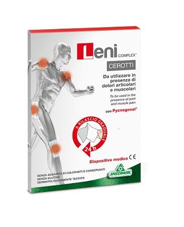 Specchiasol Leni Complex Dolori muscolari/articolari 5 Cerotti Monodose