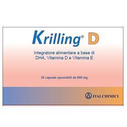 KRILLING D 30 CAPSULE - Farmacistaclick