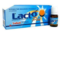 LACTO PIU 3 MILIARDI 12 FLACONCINI - Farmacia Bartoli