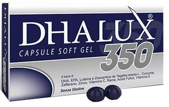 DHALUX 350 BLISTER 30 CAPSULE MOLLI ASTUCCIO 29,4 G - Farmabros.it