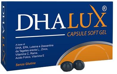 DHALUX BLISTER 30 CAPSULE MOLLI ASTUCCIO 27,36 G - DrStebe