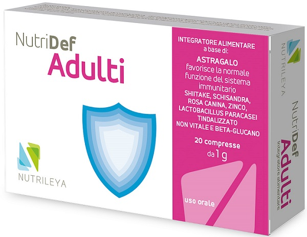 NUTRIDEF ADULTI 20 COMPRESSE - Farmafirst.it