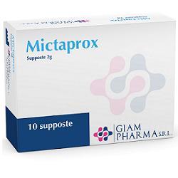 MICTAPROX 10 SUPPOSTE 2 G - Farmacia Basso