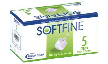 AGO PER PENNA DA INSULINA SOFTFINE 31 GAUGE 4 MM 0,25 MM 100 PEZZI - Farmacielo