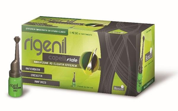 RIGENIL CAPELLI 10 FIALE DA 8 ML - Farmaseller