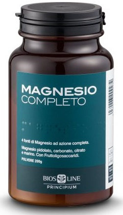 Bios Line Principium Magnesio Completo in Polvere 200 gr - Farmafamily.it