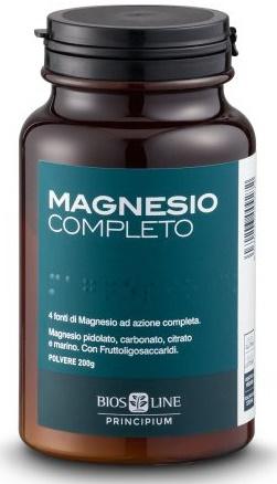 PRINCIPIUM MAGNESIO COMPLETO POLVERE 200 G - Farmaciasconti.it