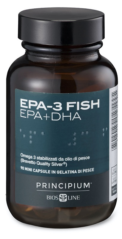 BIOS LINE PRINCIPIUM EPA 3 FISH INTEGRATORE ALIMENTARE 90 CAPSULE - Farmastar.it