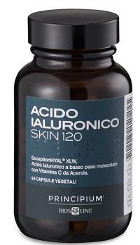 PRINCIPIUM ACIDO IALURONICO SKIN 120 60 CAPSULE VEGETALI - farmaventura.it