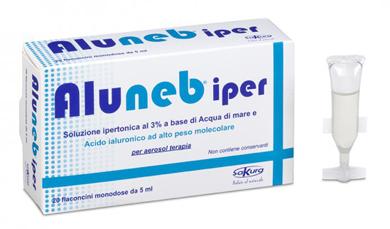 ALUNEB SOLUZIONE IPERTONICA 20 FLACONCINI MONODOSE DA 5 ML - La farmacia digitale