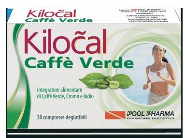 KILOCAL CAFFE' VERDE 30 COMPRESSE - FARMAEMPORIO