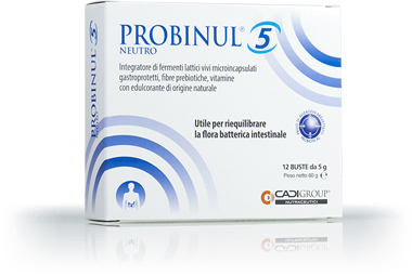 PROBINUL 5 NEUTRO 12 BUSTINE - Farmaciapacini.it