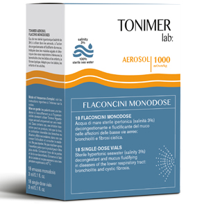 TONIMER LAB AEROSOL 18 FLACONCINI 3 ML MONODOSE - Farmapage.it