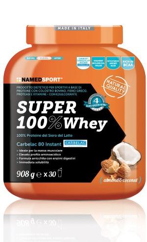 SUPER100% WHEY COCONUT/ALMOND 908 G - FARMAPRIME