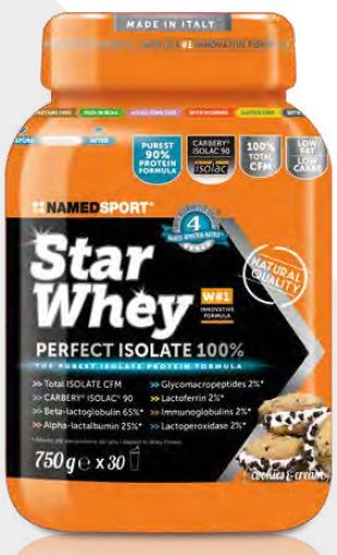 STAR WHEY COOKIES & CREAM 750 G - Spacefarma.it