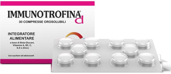 IMMUNOTROFINA D 30 COMPRESSE OROSOLUBILI - Arcafarma.it