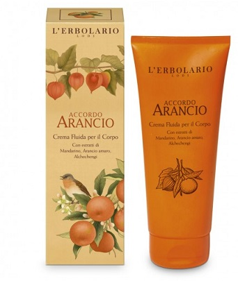 ARANCIO CREMA FLUIDA PER IL CORPO 200 ML - Farmaconvenienza.it