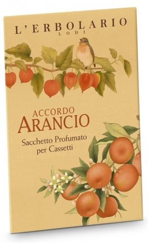 ARANCIO SACCHETTO PROFUMATO PER CASSETTI - Farmaunclick.it