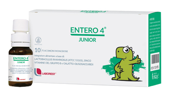 ENTERO 4 JUNIOR 10 FLACONCINI 8 ML - Farmaseller