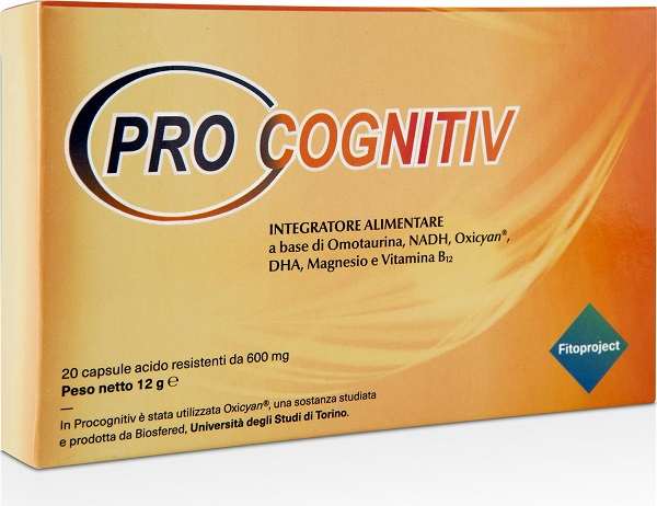 PROCOGNITIV 20 CAPSULE 12 G - farmaciadeglispeziali.it