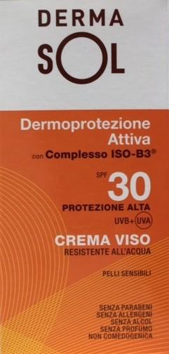 DERMASOL CREMA VISO PROTEZIONE ALTA 30+ 50 ML - Farmabenni.it