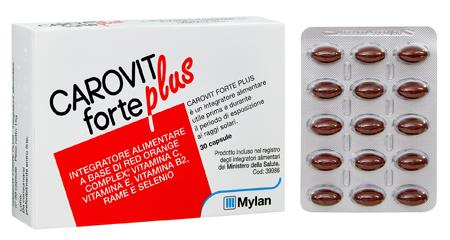 CAROVIT FORTE PLUS 30CPS TP - Parafarmacia la Fattoria della Salute S.n.c. di Delfini Dott.ssa Giulia e Marra Dott.ssa Michela