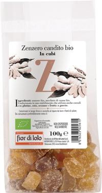 ZENZERO CANDITO CUBI BIO 100 G - Farmafamily.it