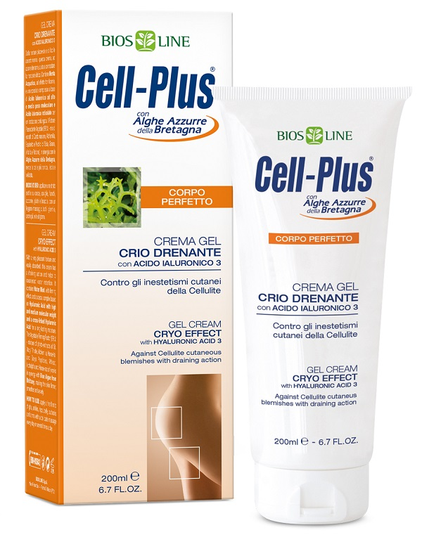 CELL PLUS CREMA GEL EFF CRIO 200 ML - Farmastop