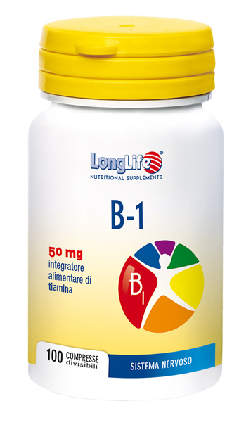 LONGLIFE B1 100 COMPRESSE 50 MG - Sempredisponibile.it