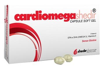 CARDIOMEGA SHEDIR 30 CAPSULE MOLLI 23,3 G - Farmia.it