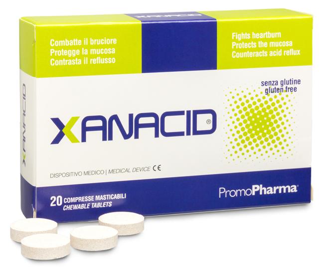 XANACID 20 COMPRESSE MASTICABILI - Farmacia Centrale Dr. Monteleone Adriano