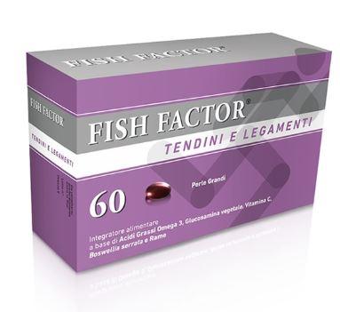 Fish Factor Tendini & Legamenti Integratore 60 Perle