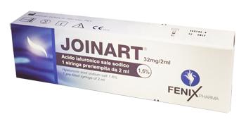 SIRINGA INTRA-ARTICOLARE JOINART ACIDO IALURONICO 1,6% 2 ML 3 PEZZI - Farmacia Centrale Dr. Monteleone Adriano