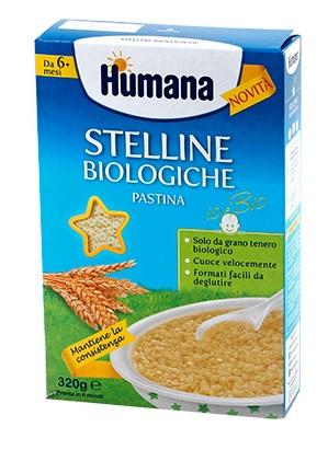 HUMANA STELLINE PASTINA BIOLOGICA 320 G - Farmacia Centrale Dr. Monteleone Adriano