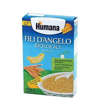 HUMANA FILI D'ANGELO PASTINA BIOLOGICA 320 G - Carafarmacia.it